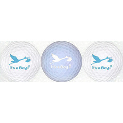 It's A Boy Golf Ball Set