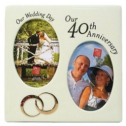 40th Anniversary Picture Frame Findgift Com