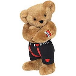 "15"" Huggable Hunk with Tattoo Teddy Bear"