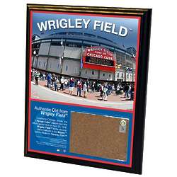 2010 Chicago Cubs Wrigley Field Dirt Plaque