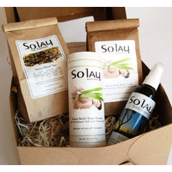 Solay Stress Relief Eco Friendly Natural Spa Gift Set