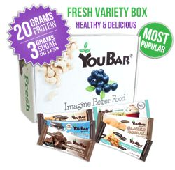 YouBar Deluxe Variety Gift Box