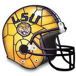 Louisiana State University Tigers Football Helmet Lamp