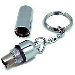 Key Ring Bullet Cigar Cutter