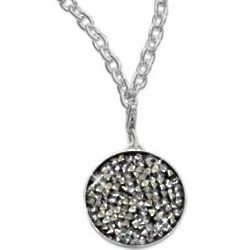 Shooting Star Silver Plated Pendant Necklace