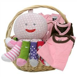 Baby Girl Apparel and Octopus Gift Set