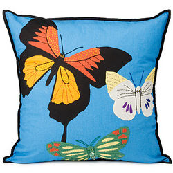Handcrafted Butterfly Pillow