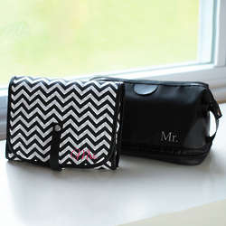Mr. and Mrs. Travel Bag Set