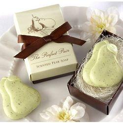 Perfect Pear Soap Favors