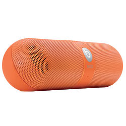 Neon Orange Beats Pill Speakers