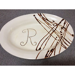 Personalized Family Serving Dish
