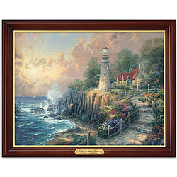 The Light of Peace Illuminated Thomas Kinkade Print