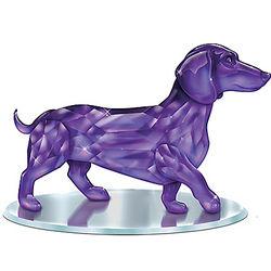 Amethyst Crystalline Dachshund Figurine