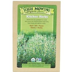 High Mowing Organic Seeds Gift Box of 5 Kitchen Herbs