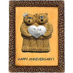 Personalized Wedding Anniversary Plaque