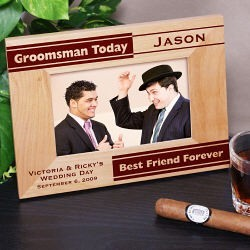 Personalized Groomsman Picture Frame