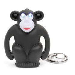 Monkey LED Keychain