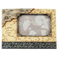 'Love and Cherish Always' Sympathy Photo Frame