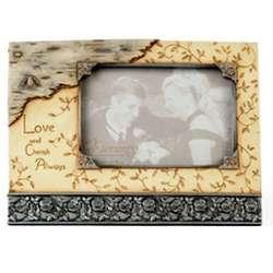 'Love and Cherish Always' Sympathy Photo Frame