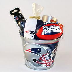 New England Patriots Premier Pail Gift Set