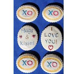 Springerle Cookies Hugs and Kisses Gift Tin