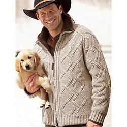 North Country Men's Zip Cardigan