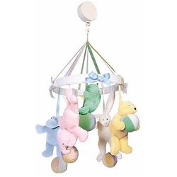 Hush Little Baby Mobile with Plush Toys