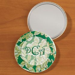 Personalized Tapestry Pocket Mirror