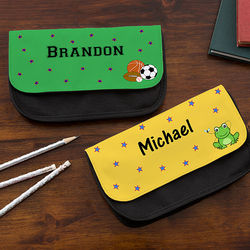 Boy's You Choose Personalized Pencil Case
