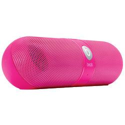 Neon Pink Beats Pill Speakers