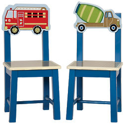 2 Truck Kid's Chairs
