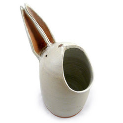 Handmade Rabbit Utensil Jar