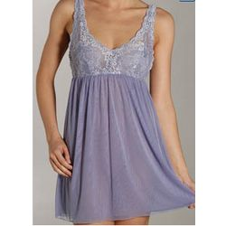 Mon Cher Double Layer Lace Bust Tulle Chemise