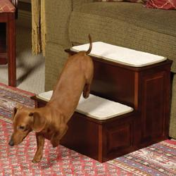 Decorative 2 Step Pet Steps