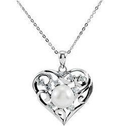 My Treasured Possession Heart Pendant Necklace