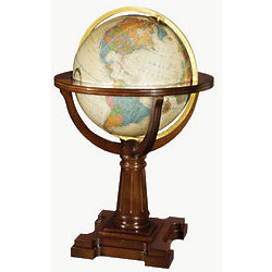 Annapolis Illuminated Floor Globe