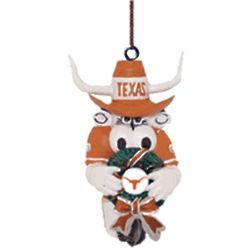 Texas Mascot Wreath Ornament