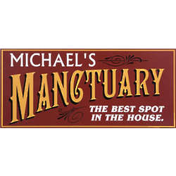 Personalized Manctuary Sign