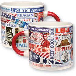 Presidential Slogans Mug