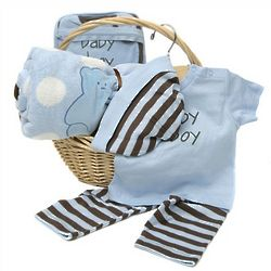 Elegant Baby Boy Gift Set