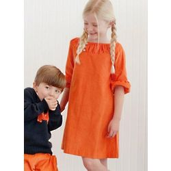 Girls Corduroy Brooke Dress