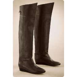 Berkeley Leather Wedge Boot