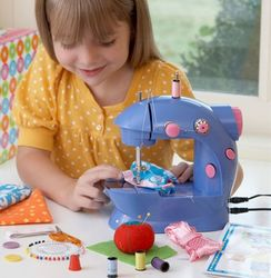 Kid's Adjustable Two-Speed Sewing Machine