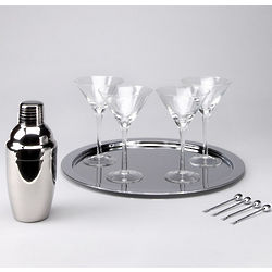 Lord and Taylor Martini Set