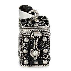 Sterling Silver Prayer Box Locket