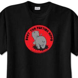NCIS Bert the Farting Hippo T-Shirt