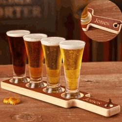 Personalized Beer Tasting Set