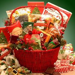 Happy Holiday Tidings Grand Gourmet Gift Basket