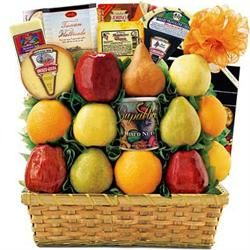 Ultimate Fruit and Cheese Gift Basket