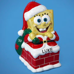 SpongeBob Squarepants Personalized Christmas Ornament
